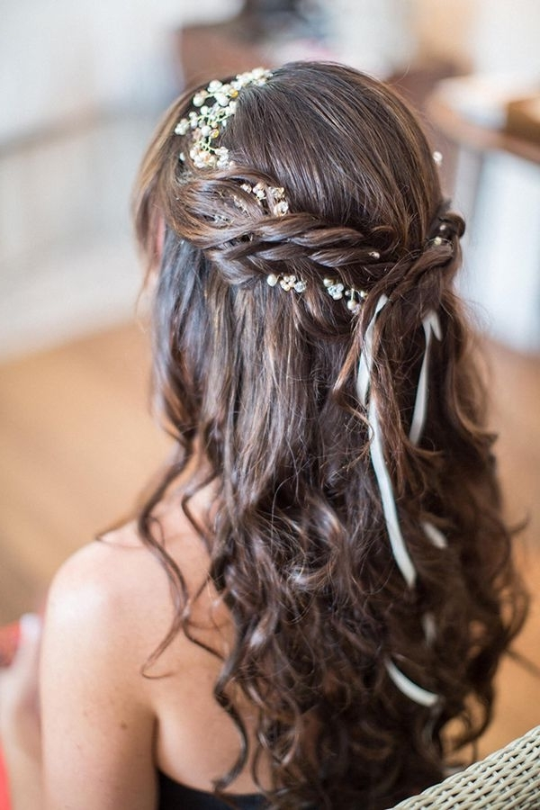 38 Super Cute Little Girl Hairstyles For Wedding | Deer Pearl Flowers Pertaining To Wedding Hairstyles For Girls (View 4 of 15)