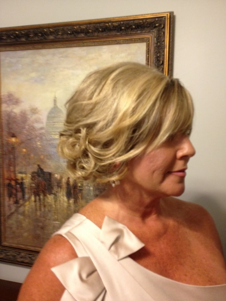 380 Best Mother Of The Bride Hairstyles Images On Pinterest | Hair Throughout Mother Of Bride Wedding Hairstyles (View 3 of 15)