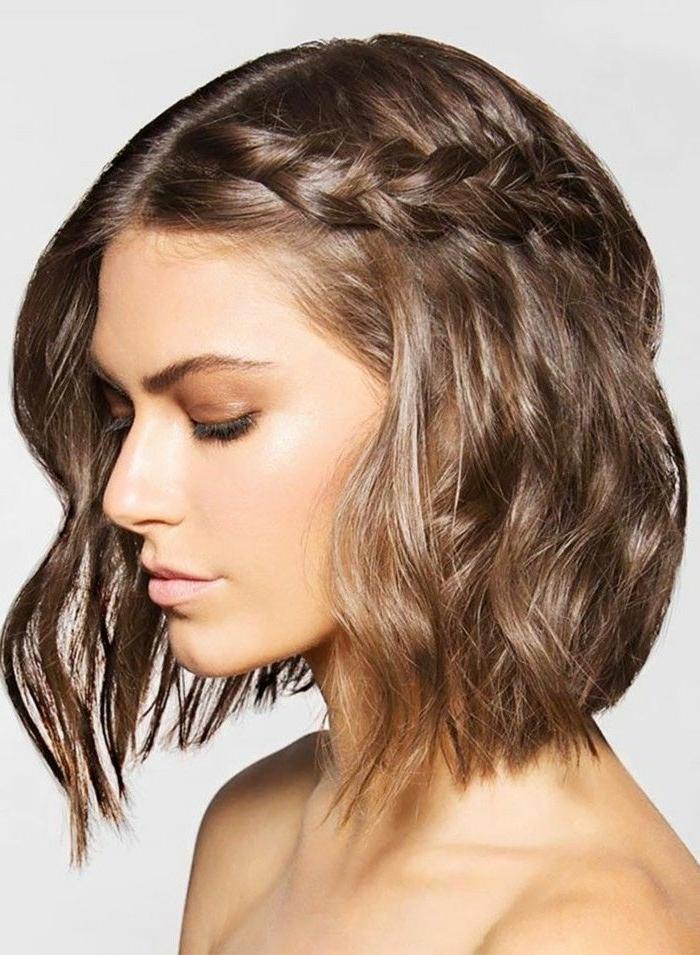 39 Romantic Beach Wedding Hairstyles Ideas | Beach Wedding With Regard To Wedding Hairstyles For Shoulder Length Layered Hair (View 9 of 15)