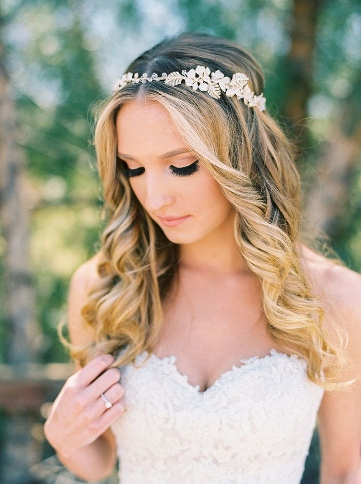 4 Romantic Wedding Hairstyles To Complete Your Vision | Loose Bridal For Romantic Wedding Hairstyles (View 5 of 15)
