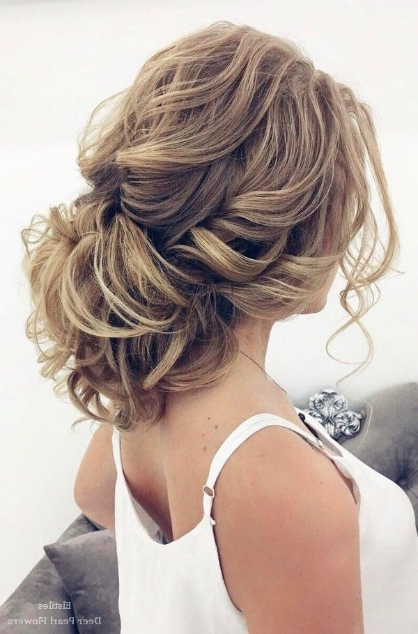 40 Best Wedding Hairstyles For Long Hair | Weddings, Hair Style And Regarding Messy Updos Wedding Hairstyles (View 5 of 15)