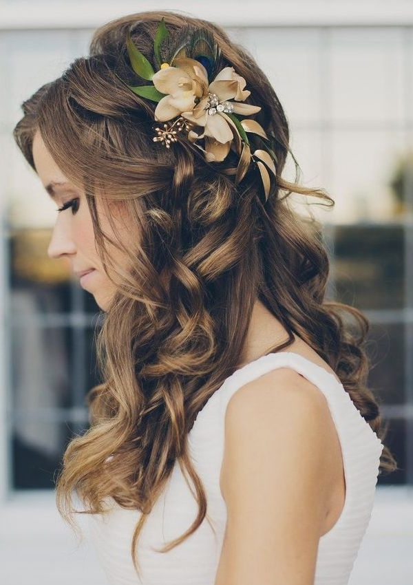 40 Bridal Hairstyles To Look Amazingly Special | Pinterest | Boho In Relaxed Wedding Hairstyles (View 6 of 15)
