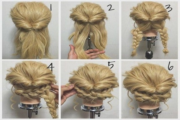 40 Creative Updos For Curly Hair | Easy Wedding Hairstyles For Long In Easy Wedding Hairstyles For Long Curly Hair (View 4 of 15)