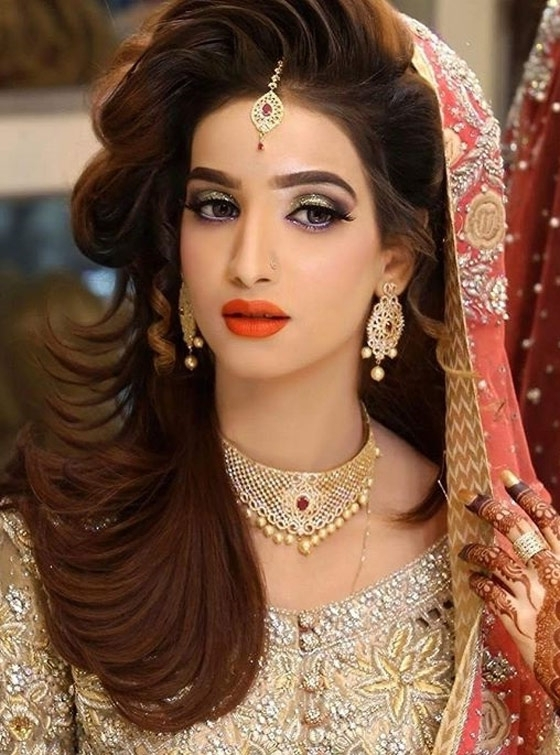 Featured Photo of Wedding Hairstyles For Indian Bridal