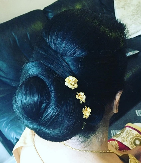 40 Indian Bridal Hairstyles Perfect For Your Wedding Throughout Christian Bridal Hairstyles For Short Hair (View 13 of 15)