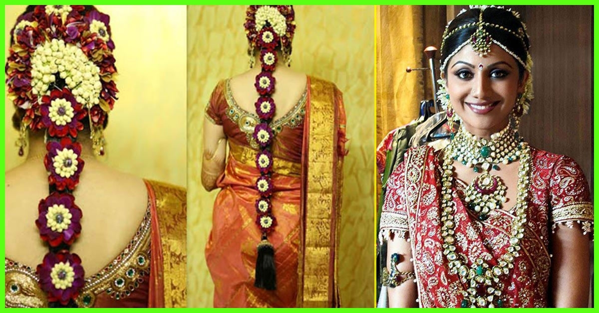40 Indian Bridal Hairstyles Perfect For Your Wedding Throughout Wedding Hairstyles For Indian Bridal (View 3 of 15)