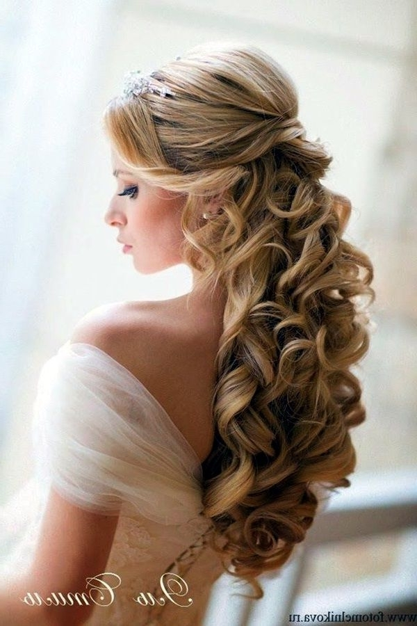 40 Perfect Wedding Hairstyles For 2016 | Wedding Hairstyles 2016 Throughout Summer Wedding Hairstyles For Long Hair (View 5 of 15)