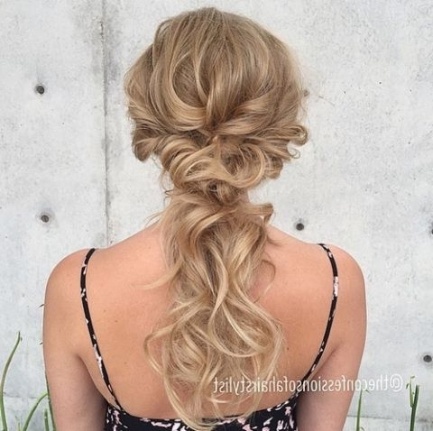 40 Picture Perfect Hairstyles For Long Thin Hair | Prom, Prom Hair In Wedding Hairstyles For Long Thin Hair (View 2 of 15)