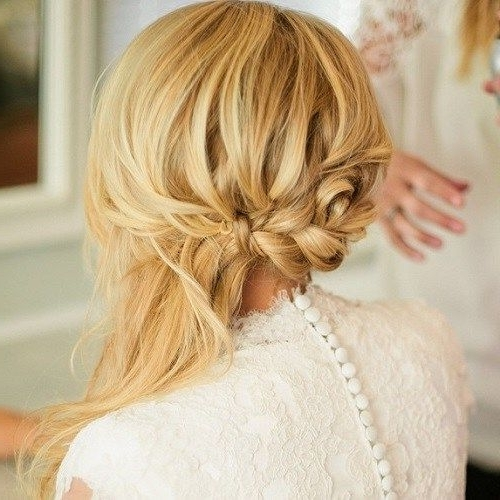 40 Side Ponytails That You Will Love | Side Ponytails, Messy Plaits With Regard To Wedding Hairstyles With Side Ponytail Braid (View 5 of 15)