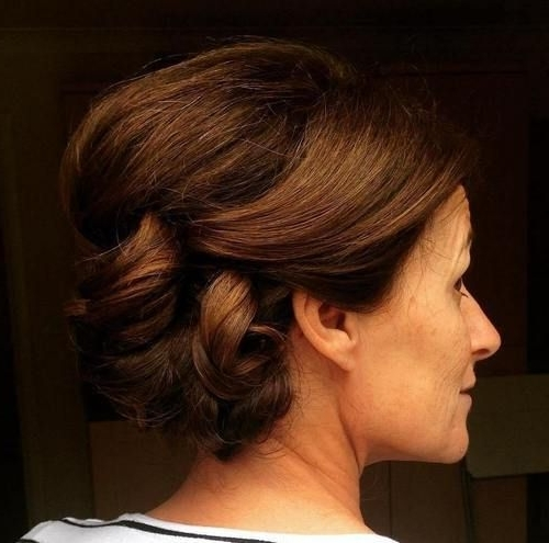 40 Stylish Long Hairstyles For Older Women | Classy Updo, Updo And Pertaining To Wedding Hairstyles For Women Over (View 5 of 15)