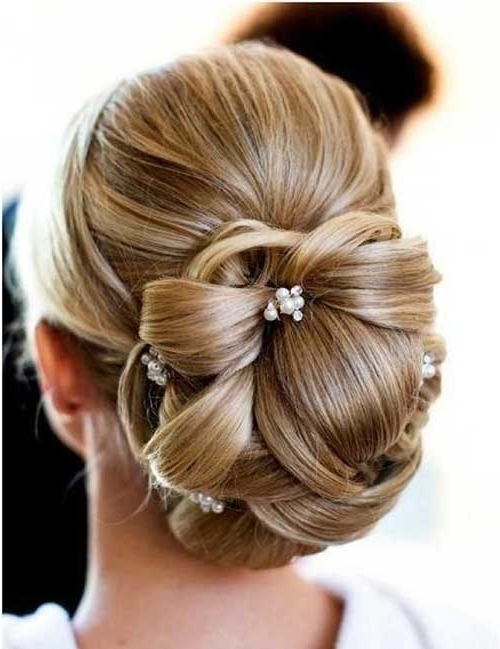 40+ Wedding Hair Images | Hairstyles & Haircuts 2016 – 2017 In Low Updo Wedding Hairstyles (View 14 of 15)