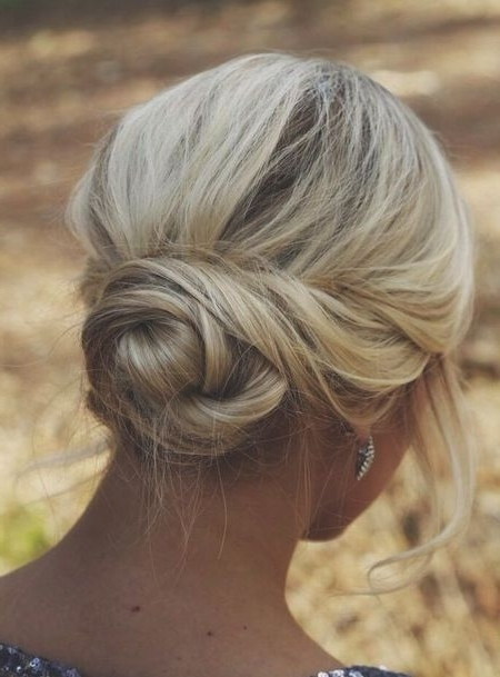 40 Wedding Hairstyles For Short To Mid Length Hair | Herinterest/ Pertaining To Simple Wedding Hairstyles For Shoulder Length Hair (View 6 of 15)