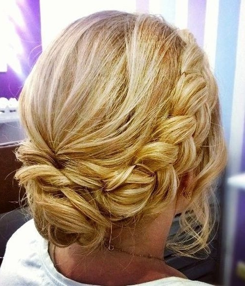 41 Best Updos Images On Pinterest | Wedding Hair Styles, Hair Ideas Regarding Wedding Hairstyles For Mid Length Fine Hair (View 12 of 15)