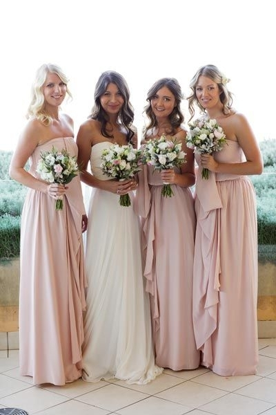 42 Best Bridesmaids Images On Pinterest | Flower Girls, Weddings And With Beach Wedding Hair For Bridesmaids (View 5 of 15)