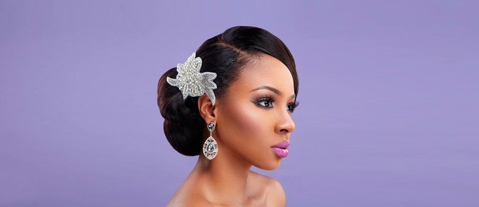 42 Black Women Wedding Hairstyles | Wedding Forward Throughout Wedding Hairstyles For Black Women (View 14 of 15)