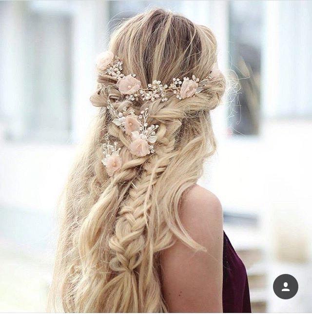42 Wedding Braided Hairstyles 2017   Braid Hairstyles, Weddings And Throughout Wedding Braids Hairstyles (View 4 of 15)