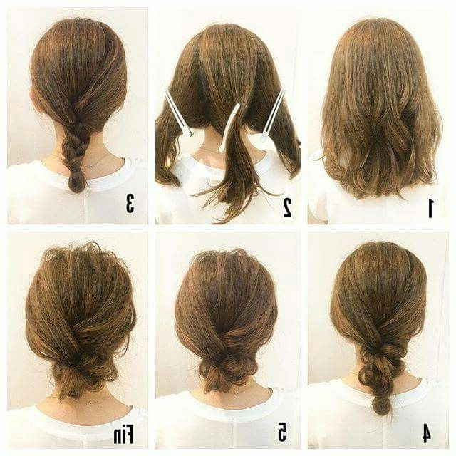 435 Best Hair Images On Pinterest   Hairstyle Ideas, Beautiful Pertaining To Diy Simple Wedding Hairstyles For Long Hair (View 12 of 15)