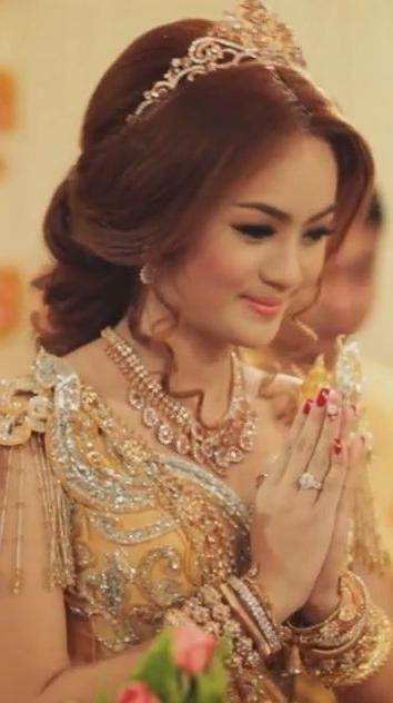 44 Best Khmer Wedding Images On Pinterest | Khmer Wedding, Wedding For Khmer Wedding Hairstyles (View 6 of 15)