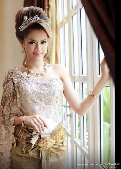 44 Best Khmer Wedding Images On Pinterest | Khmer Wedding, Wedding Within Khmer Wedding Hairstyles (View 15 of 15)