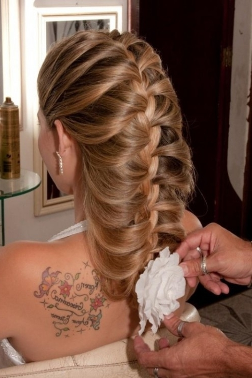 45 Braided Wedding Hairstyles Ideas – Weddingomania Pertaining To Wedding Hairstyles For Long Hair With Braids (View 13 of 15)