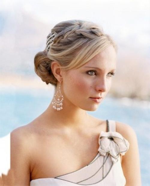45 Braided Wedding Hairstyles Ideas – Weddingomania Within Wedding Braids Hairstyles (View 7 of 15)