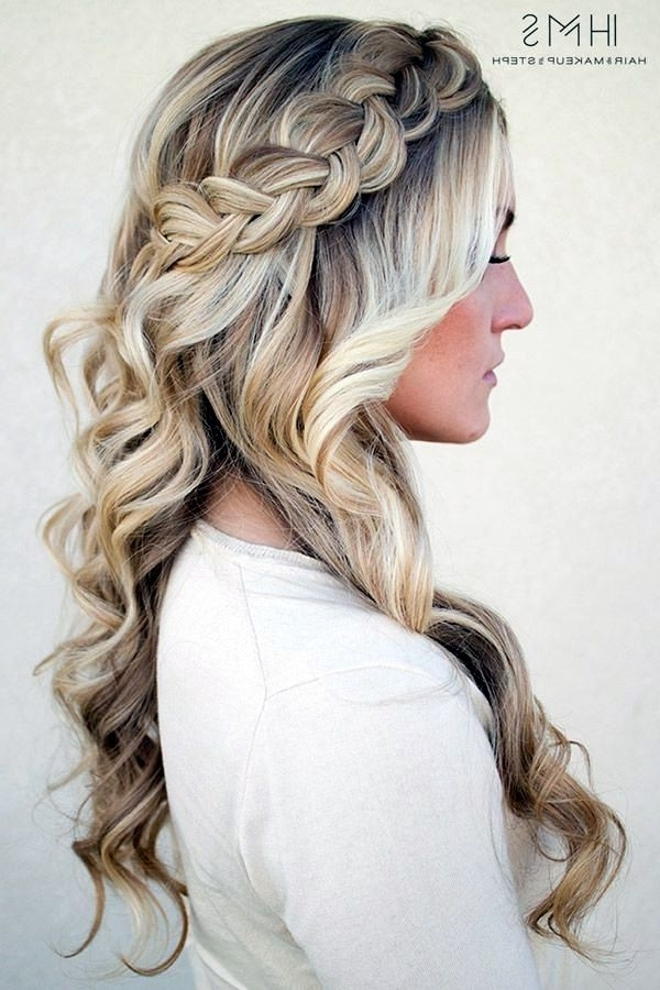 Featured Photo of Wedding Hairstyles For Long Thick Hair