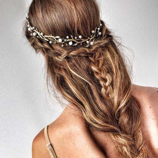 45 Romantic Wedding Hairstyles Within Romantic Wedding Hairstyles (View 15 of 15)