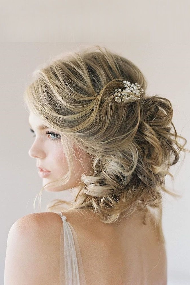 45 Short Wedding Hairstyle Ideas So Good You'd Want To Cut Hair For Wedding Hairstyles For Short Curly Hair (View 3 of 15)