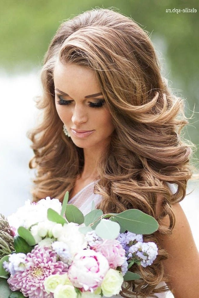 45 Stunning Summer Wedding Hairstyles | Pinterest | Summer Wedding Inside Summer Wedding Hairstyles For Long Hair (View 7 of 15)
