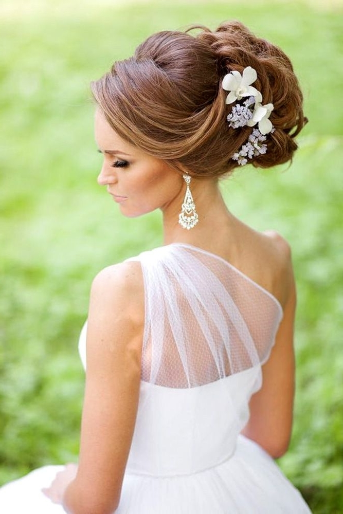 45 Stunning Summer Wedding Hairstyles   Summer Wedding Hairstyles Pertaining To Summer Wedding Hairstyles For Bridesmaids (View 9 of 15)