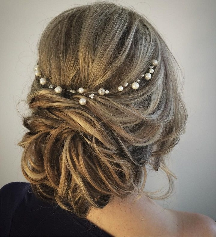 452 Best Bridal Hair – Casual Up Do's Images On Pinterest | Bridal Within Casual Wedding Hairstyles For Long Hair (View 6 of 15)
