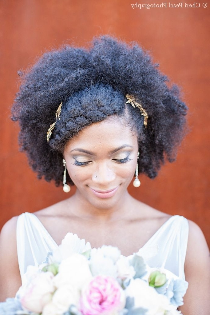 468 Best African American Wedding Hair Images On Pinterest | Wedding Inside Bridesmaid Hairstyles For Short Black Hair (View 13 of 15)