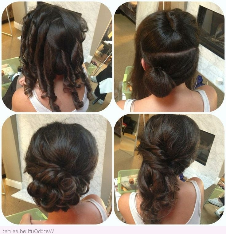 Explore Gallery Of Wedding Hairstyles Updo Tutorial Showing 9 Of 15