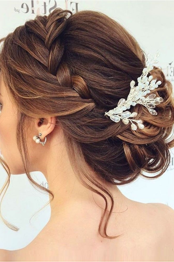 48 Mother Of The Bride Hairstyles   Pinterest   30Th, Weddings And Intended For Bridal Wedding Hairstyles (View 4 of 15)