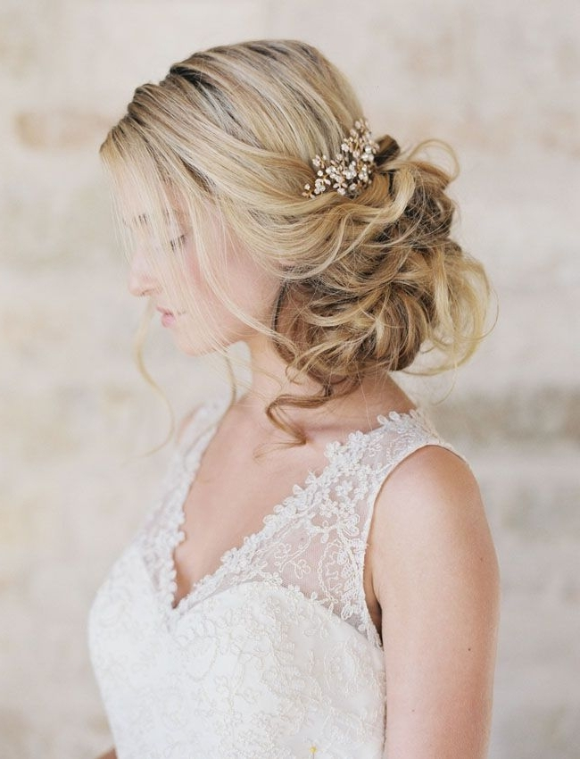 492 Best Vintage Bridal Hair Dos Images On Pinterest | Wedding Hair Pertaining To Romantic Vintage Wedding Hairstyles (View 6 of 15)