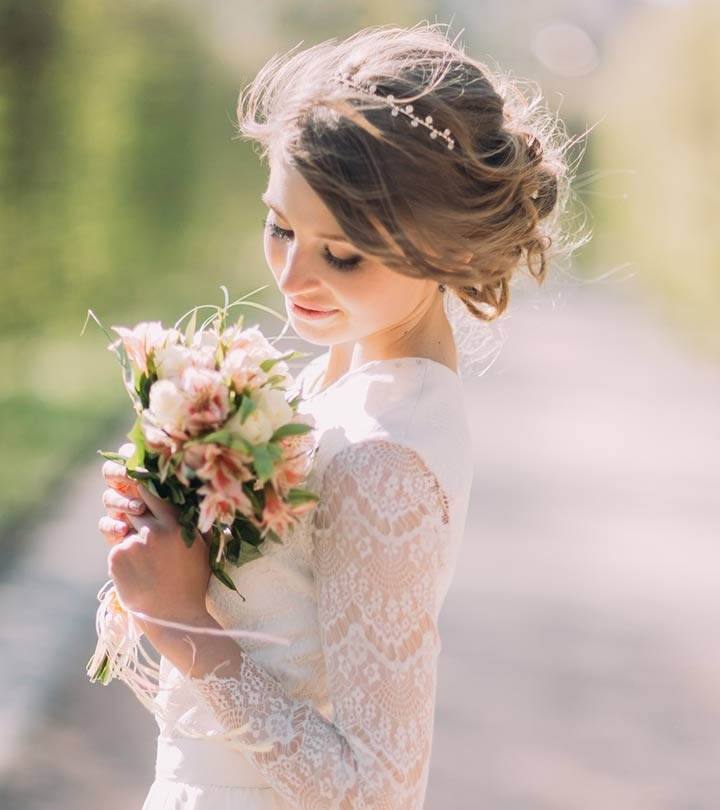 5 Bun Hairstyles For Your Wedding Day Inside Wedding Bun Hairstyles (View 4 of 15)