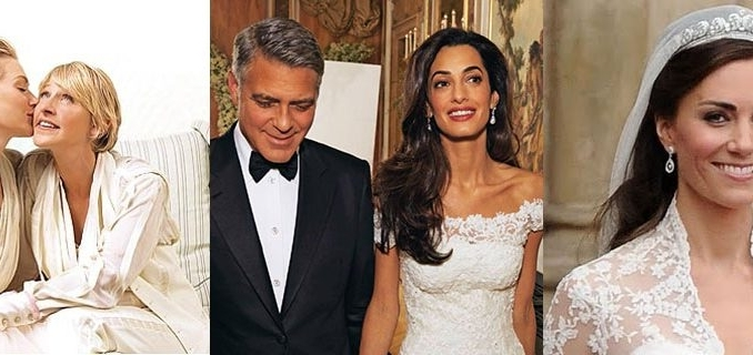 5 Celebrity Wedding Hairstyles To Inspire You Regarding Celebrity Wedding Hairstyles (View 2 of 15)