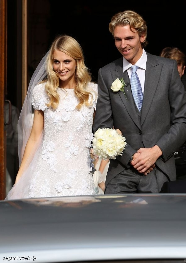 5 Celebrity Wedding Hairstyles You Can Copy! Inside Celebrity Wedding Hairstyles (View 14 of 15)