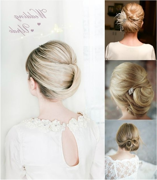 Featured Photo of Wedding Updos For Long Straight Hair