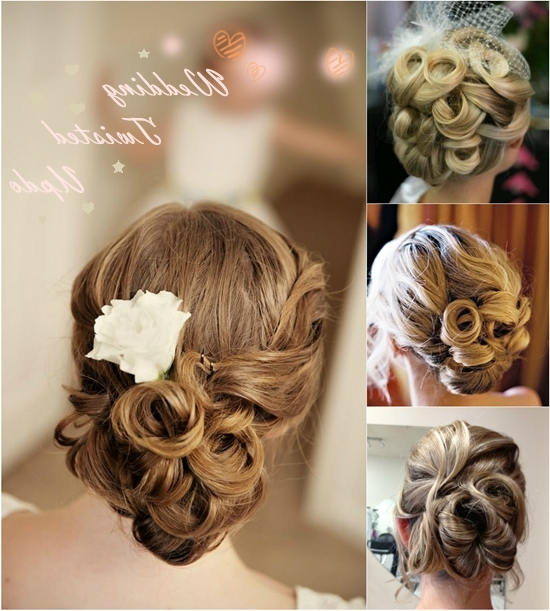 5 Easiest Wedding Updo You Can Createyourself – | Wedding Updo Within Wedding Updos For Long Straight Hair (View 5 of 15)