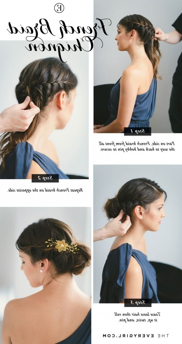 5 Quick And Easy Bridesmaid Hairstyles – The Everygirl For Easy Wedding Hairstyles For Bridesmaids (View 7 of 15)