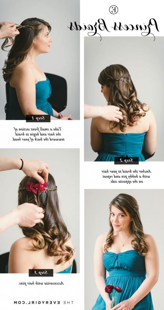 5 Quick And Easy Bridesmaid Hairstyles – The Everygirl Intended For Easy Wedding Hair For Bridesmaids (View 4 of 15)