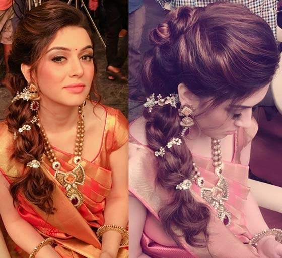 50 Best Indian Hairstyles You Must Try In 2018 Pertaining To Braided Hairstyles For Long Hair Indian Wedding (View 4 of 15)