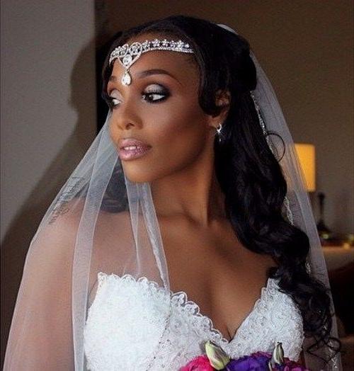 50 Superb Black Wedding Hairstyles | Pinterest | Black Hairstyles In Wedding Hairstyles For Black Woman (View 8 of 15)
