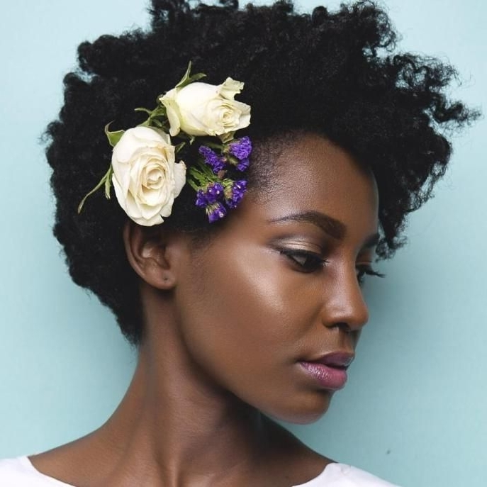 15 Best Collection of Wedding Hairstyles For Natural Short Hair