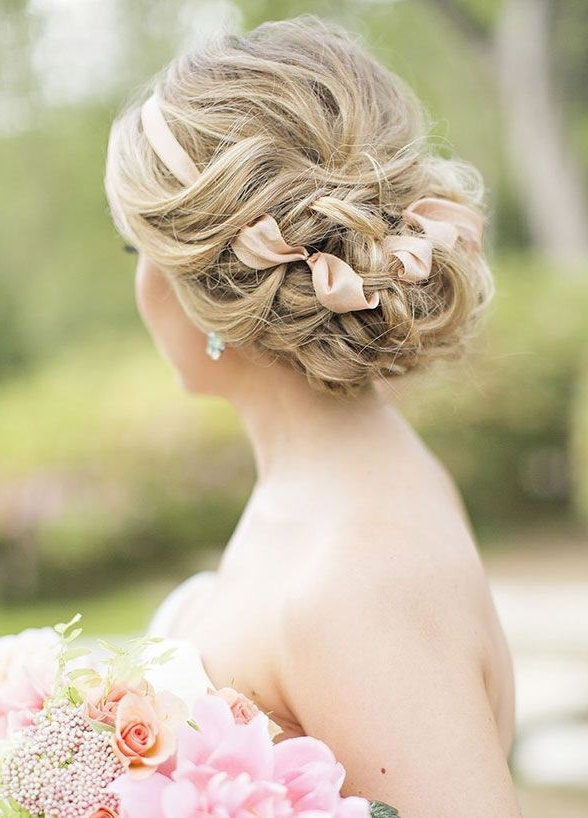 501 Best Wedding Hairstyles Images On Pinterest | Bridal Hairstyles Within Garden Wedding Hairstyles For Bridesmaids (View 5 of 15)