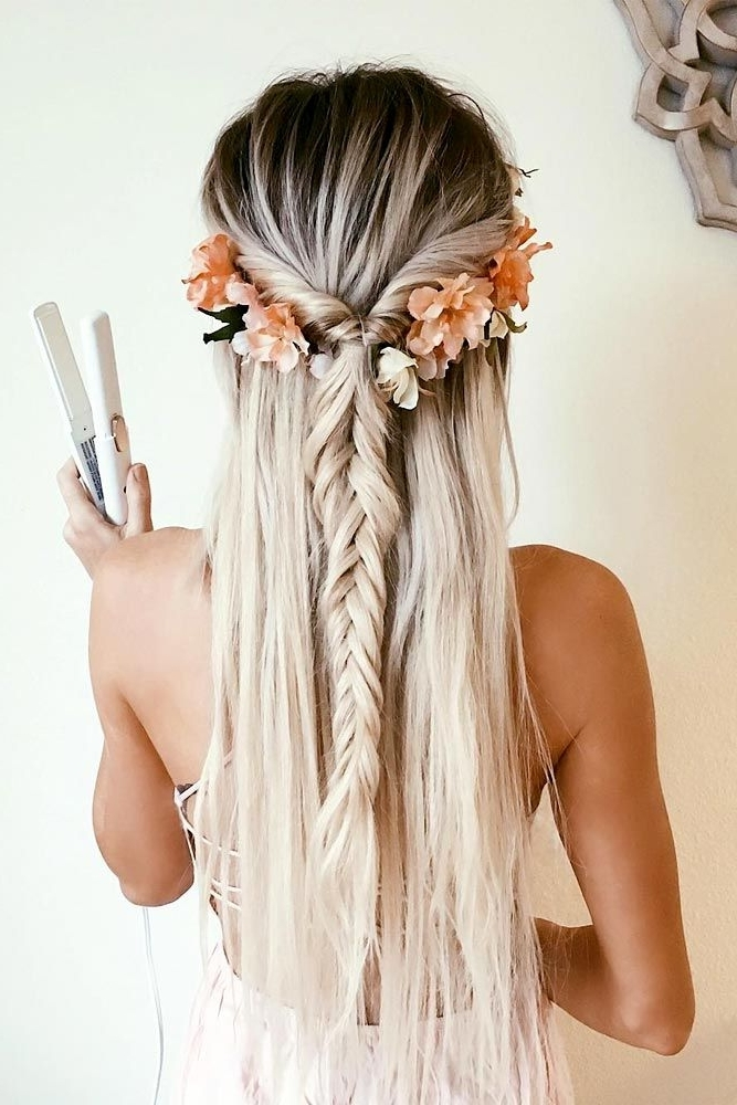 Featured Photo of Wedding Hairstyles For Long Boho Hair