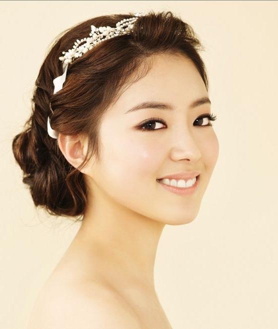55 Best Korean Wedding Hair / Makeup Images On Pinterest | Wedding In Korean Wedding Hairstyles (View 2 of 15)