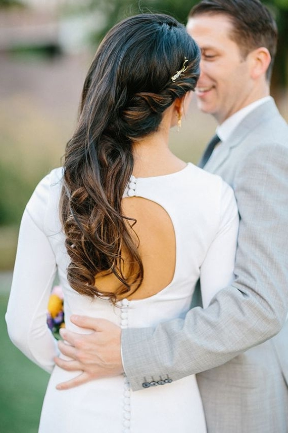 552 Best Wedding Hairstyles Images On Pinterest | Bridal Hairstyles Inside Down To The Side Wedding Hairstyles (View 5 of 15)