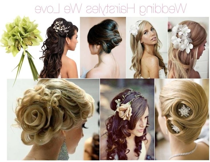 57 Best Hairstyles Images On Pinterest | Hairdos, Hair Styles And Pertaining To Wedding Hairstyles To Match Your Dress (View 8 of 15)